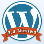 WordPress 3.0 nieuws