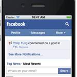 Facebook mobiel browsen